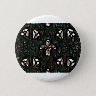 Little Man In A Web Pinback Button