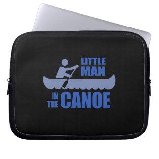 Little man in the canoe computer sleeve