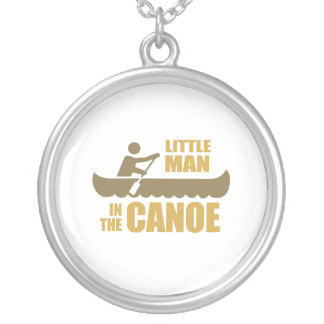 Little man in the canoe custom necklace