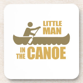 Little man in the canoe drink coasters
