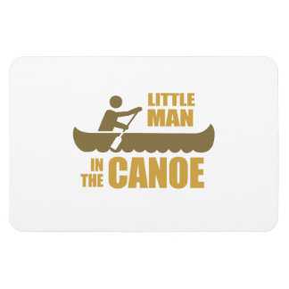 Little man in the canoe flexible magnets