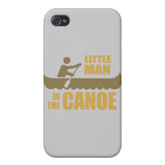 Little man in the canoe iPhone 4 covers