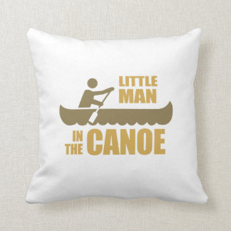 Little man in the canoe pillow