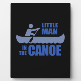 Little man in the canoe plaques