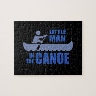 Little man in the canoe puzzles