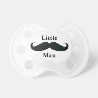 Little Man Mustache Baby Pacifier
