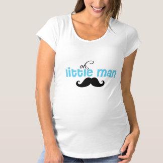 Little Man Mustache Baby Shower Maternity T Shirt