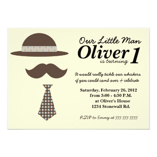 Little Man Birthday Invitations is one of our best ideas you might choose for invitation design