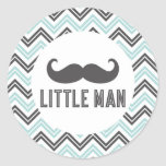 Little Man Mustache Sticker