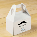 Little Man, Mustache theme Favor Box