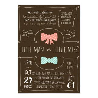 Little Man or Little Miss? Card