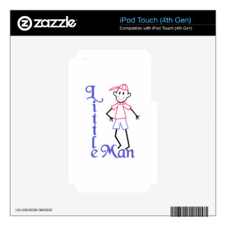 Little Man Skin For iPod Touch 4G
