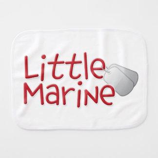 Little Marine Burp Cloth