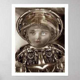 Little Marrie Cyborg Poster