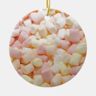 Little Marshmallows Ceramic Ornament
