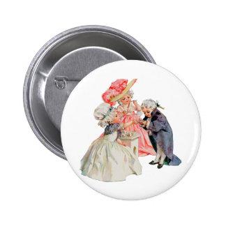 Little Martha Washington's Tea Party Button