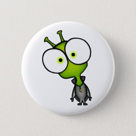 Little Martian Button