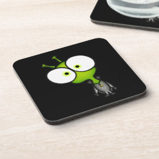 Little Martian Drink Coaster