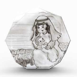 Little Mary and Baby Jesus Sketch Award