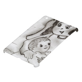 Little Mary and Baby Jesus - sketch iPad Mini Case