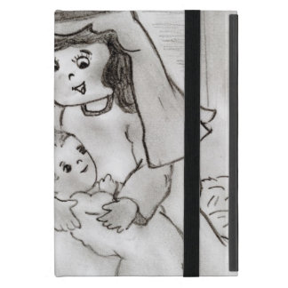 Little Mary and Jesus Cover For iPad Mini
