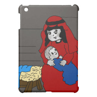 Little Mary and Jesus Cover For The iPad Mini