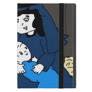 Little Mary and Jesus in Blues iPad Mini Case