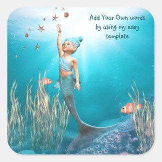little Mermaid 1 Sticker