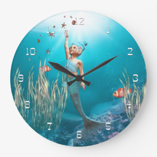 Little Mermaid 1 Wall Clock