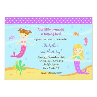 little_mermaid_birthday_party_invitations r18b18c9ecbd04145bee1a3b02206a29b_zkrqs_324?rlvnet=1 little mermaid invitations & announcements zazzle,Little Mermaid Birthday Invitations