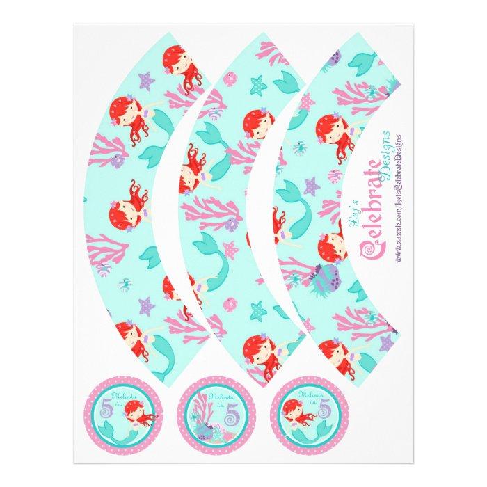 Little Mermaid Cupcake Wrappers Auburn 5B Flyer