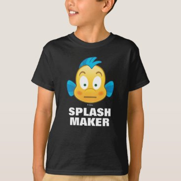 Disney Themed Little Mermaid Emoji | Flounder T-Shirt