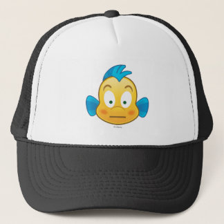 Little Mermaid Emoji | Flounder Trucker Hat