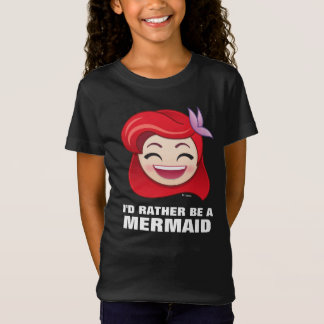 Little Mermaid Emoji | Princess Ariel - Happy T-Shirt