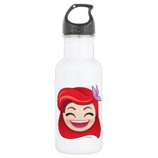 Little Mermaid Emoji   Princess Ariel - Happy Water Bottle