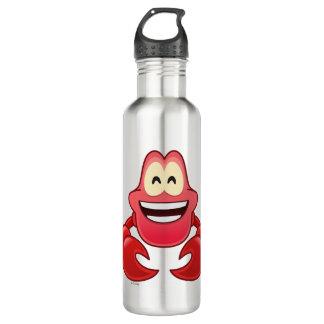 Little Mermaid Emoji | Sebastian Stainless Steel Water Bottle