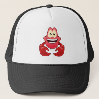 Little Mermaid Emoji | Sebastian Trucker Hat