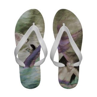 Little Mermaid Flip-Flops