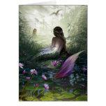 Little Mermaid Greeting Card