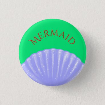 Disney Themed Little Mermaid Inspired Pinback Button