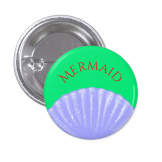 Little Mermaid Inspired Pinback Button