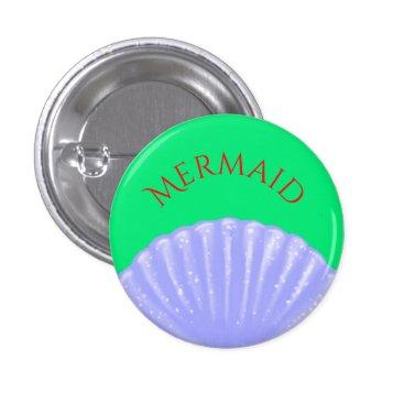 Disney Themed Little Mermaid Inspired Pinback Button