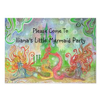 Little Mermaid Invitation