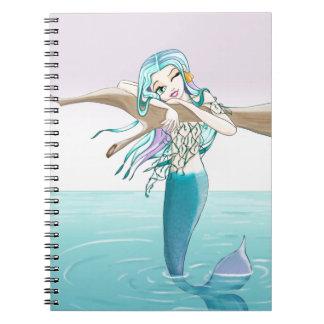 Little Mermaid Items Notebook