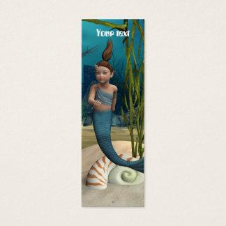 Little Mermaid Mini Business Card