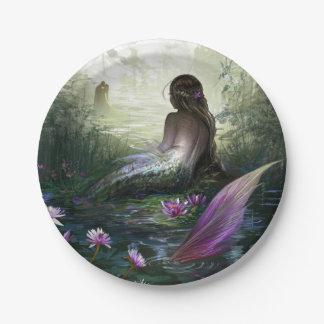 Little Mermaid Paper Plate