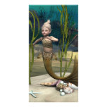 Little Mermaid Personalized Photo Card