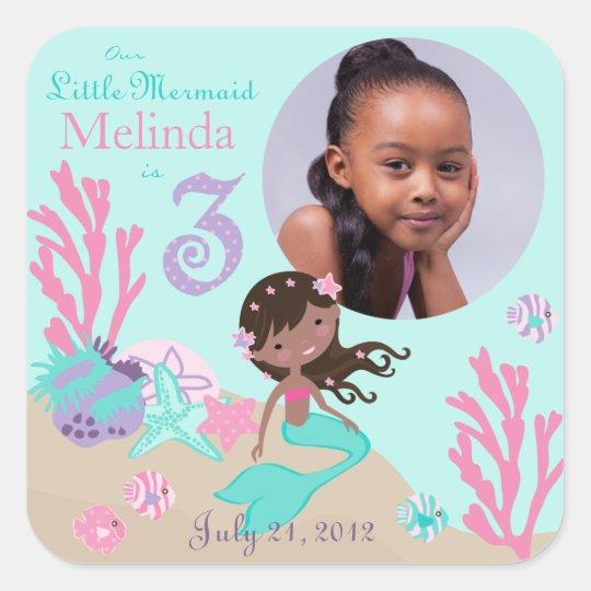 Little Mermaid Photo Sticker AA3