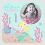 Little Mermaid Photo Sticker Blonde 1