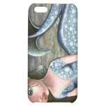 Little mermaid playing with a crab iPhone 5C cases